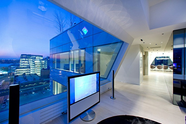 """""""Ein luxuriöse Penthouse auf NY von Innocad Architektur -  """"PH New York"""". Diese Wohnung ist eine Mischung des Europäischen Designs und Lebensstils von New York."""""""