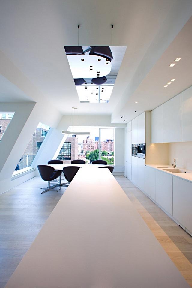 """""""Ein luxuriöse Penthouse auf NY von Innocad Architektur -  """"PH New York"""". Diese Wohnung ist eine Mischung des Europäischen Designs und Lebensstils von New York.""""  Penthouse auf NY von Innocad Architektur Penthouse NY von Innocad Architektur Luxus und trendige Pl  tze Wohn DesignTrend 06"""