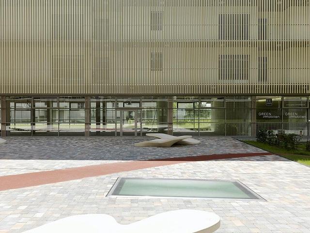 wohnanlage messequartier graz von pernthaler architekt wohn designtrend. Black Bedroom Furniture Sets. Home Design Ideas