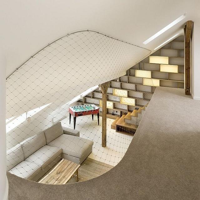 wohntrends rounded loft von a1 architects auf polen wohn designtrend. Black Bedroom Furniture Sets. Home Design Ideas