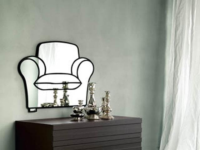 """""""Dekoideen: Moderne und dekorative Spiegel aus Holz und Glas. Es gibt verschiedene schöne Spiegel in verschiedenen geometrischen Formen und Größen.""""  Dekoideen: Moderne und dekorative Spiegel big mirror casa milano by paola navone marken wohn designtrend"""