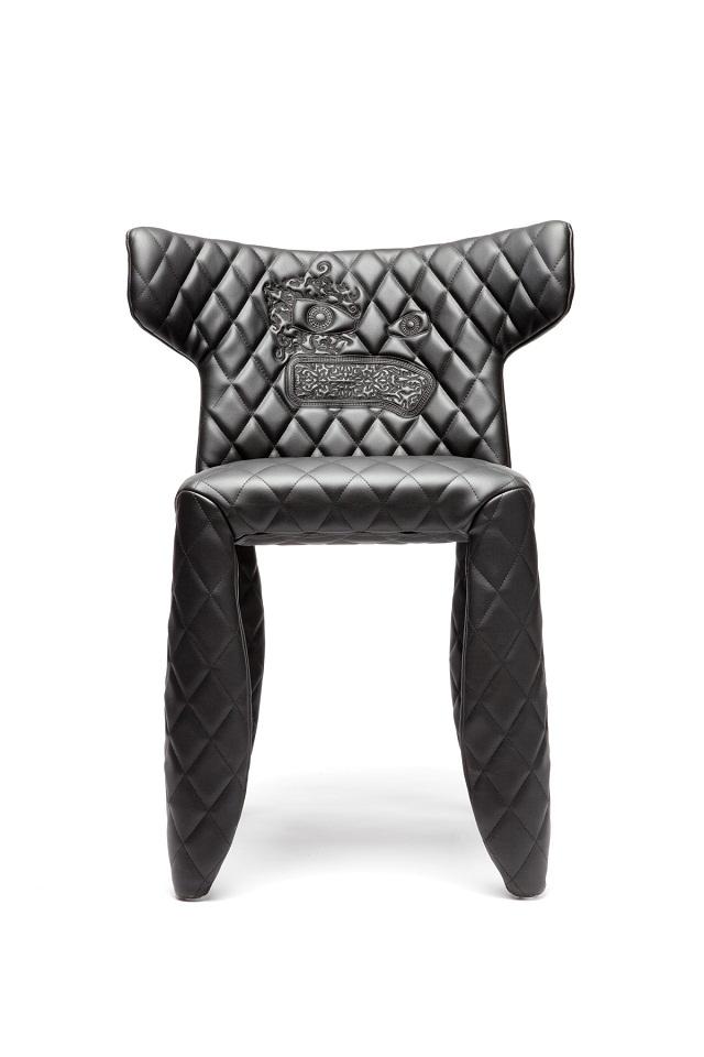 dekotrend moderne lederst hle von marcel wanders wohn designtrend. Black Bedroom Furniture Sets. Home Design Ideas