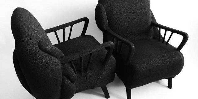 """""""Milan Design Week - Milena Krais ist Mode und Produktdesignerin Textil aus Hamburg. Sie wird die Sessel Deform Stardust an MiArt ausstellen."""""""