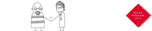 """""""Milan Design Week 2013: N = N, das heißt ganz einfach: Nichetto = Nendo. Aber auch: Ein buchstäblich produktiver Dialog zwischen Italien und Japan.""""  Milan Design Week 2013: Design """"N = N"""" """"Nichetto=Nendo"""" Milan Design Week 2013 Design N N Nichetto Nendo Leute Wohn DesignTrend 01"""