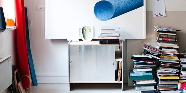 """""""Milan Design Week 2013: Sideboard Theca für Magis von Bouroullec Brüder."""""""