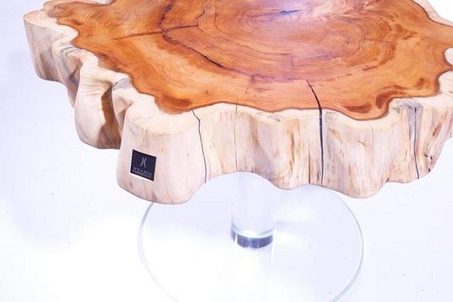 """""""Die Tischmanufaktur Stammdesign ist ein österreichisches Unternehmen, welches großen Wert auf höchste Qualität legt.""""  Stammdesign: Tischmanufaktur und Design der Natur Stammdesign Tischmanufaktur und Design der Natur Marke Wohn DesignTrend 04"""
