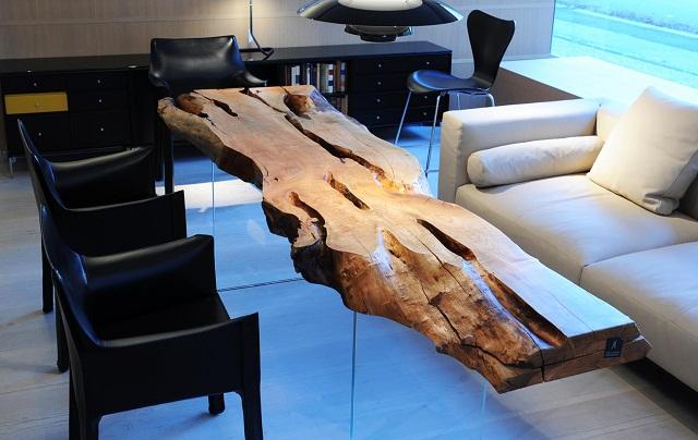 """""""Die Tischmanufaktur Stammdesign ist ein österreichisches Unternehmen, welches großen Wert auf höchste Qualität legt.""""  Stammdesign: Tischmanufaktur und Design der Natur Stammdesign Tischmanufaktur und Design der Natur Marke Wohn DesignTrend 09"""