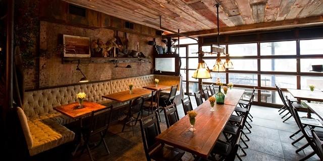 Idee Deco Chambre Fille Rose Et Bleu : Edi & The Wolf Ein Wiener Restaurant in New York City Der letzte