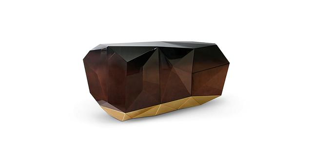 """""""Die Möbelmarke BOCA DO LOBO ist an der Clerkenwell Design Week 2013. Für Design-Liebhaber mit einer Schwäche für Festivals wird der Ort immer mehr zur Location.""""  Möbelmarke Boca do Lobo an der Clerkenwell Design Week 2013 Wohn DesignTrend    M  belmarke Boca do Lobo an Clerkenwell Design Week 2013 Sideboard Diamond Chocolate"""