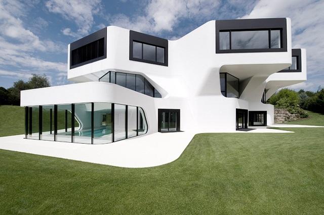 Moderne luxusvilla deutschland  moderne villa | Wohn-DesignTrend