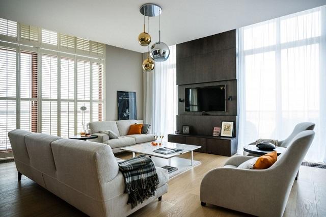 Eine high end wohnung in warschau von republika for Wohnung design