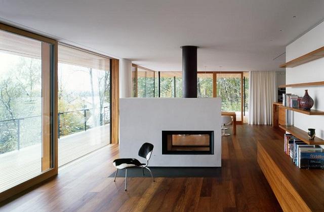 """""""Wohnhaus Heilbronn von K_m Architektur in Deutschland. Holz ist ein ganz besonderes Baumaterial. Holz ist traditionell und modern zugleich.""""  Wohnhaus Heilbronn von K_m Architektur in Deutschland Wohn DesignTrend Wohnhaus Heilbronn von K m Architektur in Deutschland 09"""