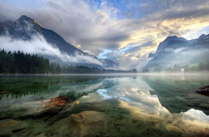 """""""Österreich ist voll von atemberaubenden Naturspots. Von Wien bis Bregenz, das Land kann eine Landschaft vorweisen, die an keinem anderen Ort vorgefunden werden kann  TOP 10 schönsten Naturspots in Österreich 10 Hintersee1"""