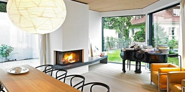 Familienhaus auf kleinem grund von bottega ehrhardt for Wohndesign stuttgart