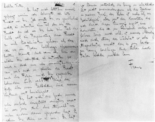 """""""Das neueste Google Doodle ist dem Schriftsteller Franz Kafka gewidmet, der am 3. Juli 130 Jahre alt geworden wäre."""""""
