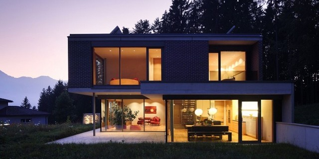 Innenarchitektur haus gulm von aicher architekten wohn for Innenarchitektur haus bilder