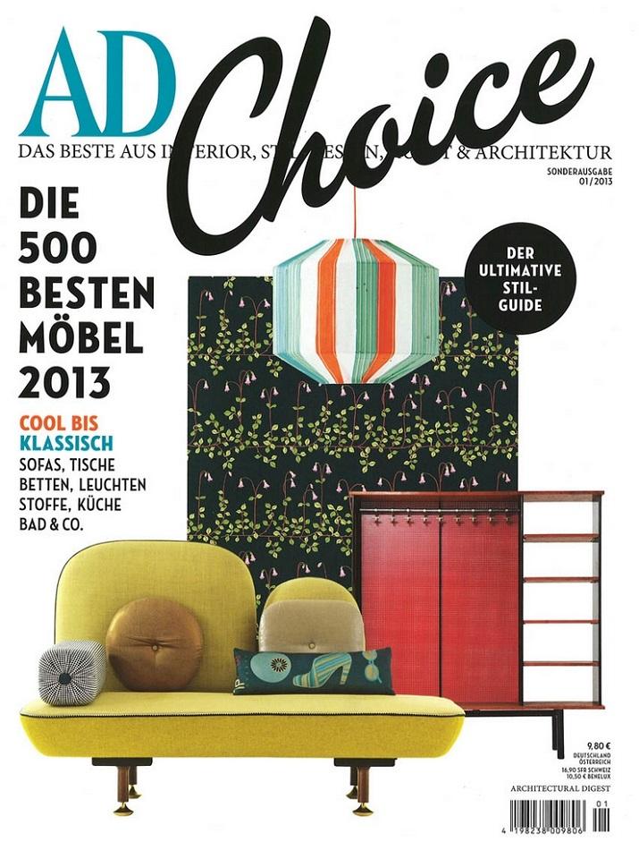 """""""TOP 10 Design Magazine, stellen wir Ihnen heute Deutschland vor. Versuchen Sie das Meiste herauszuholen und lassen Sie sich von dem Magazininhalt inspirieren.""""  TOP 10 Design Magazine in Deutschland Wohn DesignTrend AD Choice"""