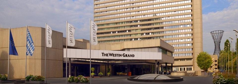 """""""Luxuriöses Hotel - The Westin Grand München. Ein stilvoller Aufenthalt im Herzen von München während des Oktoberfests inklusive Frühstück und Spa-Gutschein."""""""