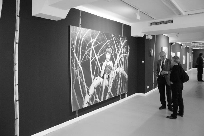 """""""Einige der besten Galerien man kann an Berlin Art Week 2013 besuchen!""""  Beste Galerien der Berlin Art Week 2013 zu besuchen Black Ghosts von Christopher Winter 01"""