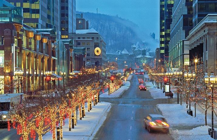 """""""Die besten 10 Städte um die Welt, wo Weihnachten eine erstaunliche Feier geworden ist.""""  10 Meiste Festliche Weihnachten-Städte 10 Meiste Festliche Weihnachten St  dte Montreal"""