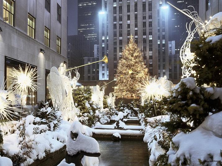 """""""Die besten 10 Städte um die Welt, wo Weihnachten eine erstaunliche Feier geworden ist.""""  10 Meiste Festliche Weihnachten-Städte 10 Meiste Festliche Weihnachten St  dte New York City"""