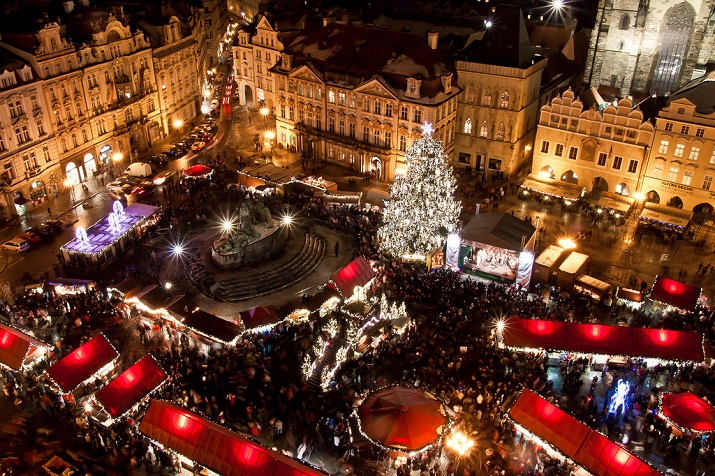 """""""Die besten 10 Städte um die Welt, wo Weihnachten eine erstaunliche Feier geworden ist.""""  10 Meiste Festliche Weihnachten-Städte 10 Meiste Festliche Weihnachten St  dte Prague"""