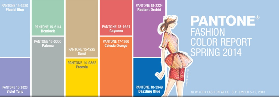 Frühling/Sommer 2014: Fashion Farbtrends von PANTONE Fr  hling Sommer 2014 Fashion Farbtrends von PANTONE slide