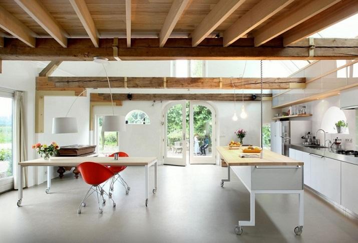 """""""Maxwan Architekten entwarf eine zeitgenössische Umwandlung eines alten Stalles in Geldermalsen, Die Niederlande.""""  House G von Maxwan Architekten House G von Maxwan Architekten 02"""