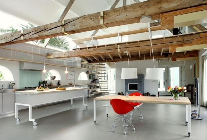 """""""Maxwan Architekten entwarf eine zeitgenössische Umwandlung eines alten Stalles in Geldermalsen, Die Niederlande.""""  House G von Maxwan Architekten House G von Maxwan Architekten 08"""