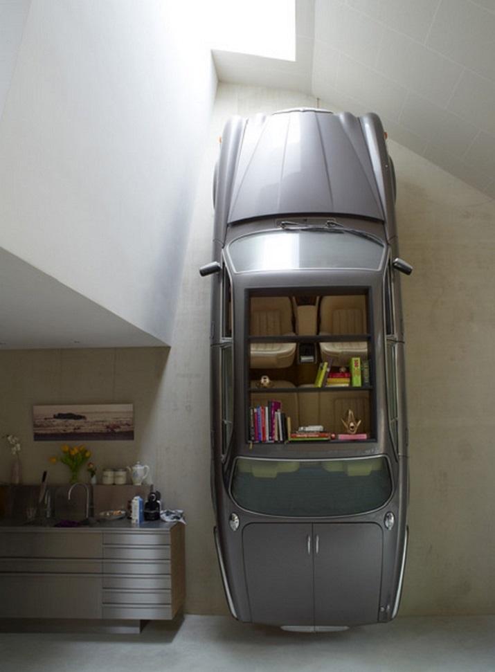 """""""Die schönsten Wagen in der Welt müssen nicht enden, in einem Schrottplatz zu verrosten, sie können umgestaltet werden und gewordener Teil Ihres Hausdekors.""""  Schöne Wagen wurden erstaunliche Möbel Sch  ne Wagen wurden erstaunliche M  bel 01"""