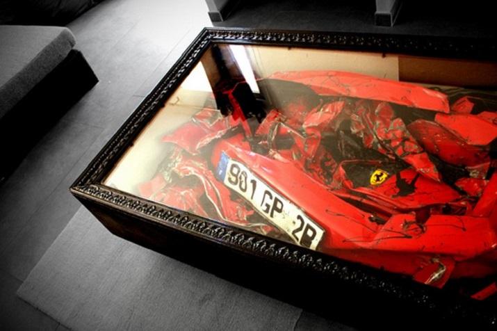 """""""Die schönsten Wagen in der Welt müssen nicht enden, in einem Schrottplatz zu verrosten, sie können umgestaltet werden und gewordener Teil Ihres Hausdekors.""""  Schöne Wagen wurden erstaunliche Möbel Sch  ne Wagen wurden erstaunliche M  bel 04"""
