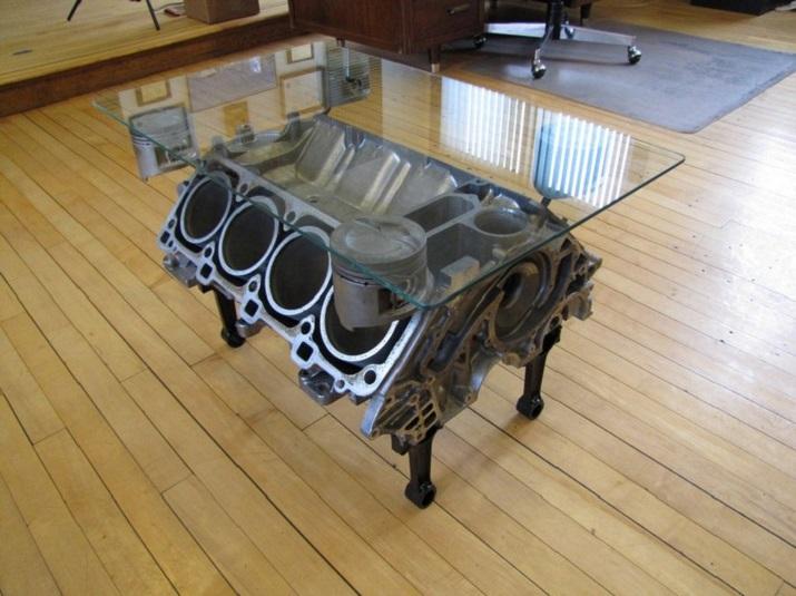 """""""Die schönsten Wagen in der Welt müssen nicht enden, in einem Schrottplatz zu verrosten, sie können umgestaltet werden und gewordener Teil Ihres Hausdekors.""""  Schöne Wagen wurden erstaunliche Möbel Sch  ne Wagen wurden erstaunliche M  bel 05"""