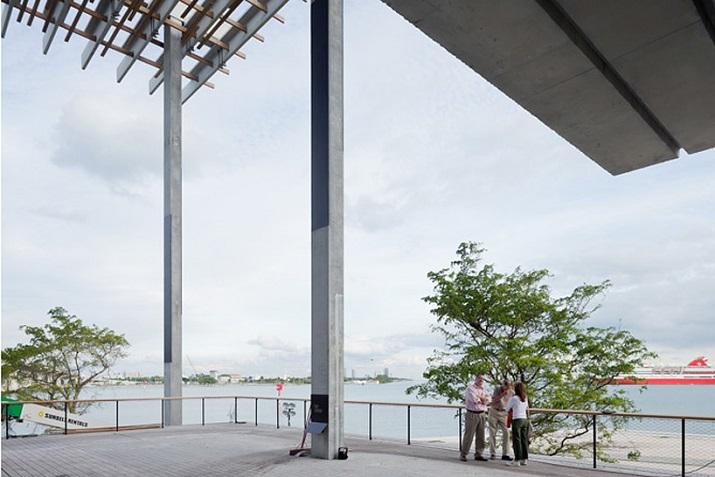 """""""Pérez Art Museum in Miami von Herzog & de Meuron eröffnet. Ein neues Museum für moderne und zeitgenössische Kunst soll zum Wahrzeichen von Miami werden.""""  Pérez Art Museum in Miami von Herzog & de Meuron P  rez Art Museum in Miami von Herzog de Meuron 06"""