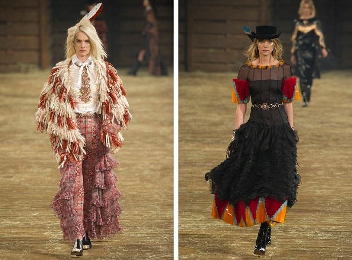 """""""Jedes Jahr richtet Karl Lagerfeld Chanels Métiers D'Art-Kollektion, die gleichzeitig die Pre-Fall-Kollektion des Hauses ist, für Coco Chanel.""""  Pre-Fall 2014: Chanel zeigt """"Métiers d'Art""""-Show in Dallas Pre Fall 2014 Chanel zeigt M  tiers dArt Show in Dallas 05"""