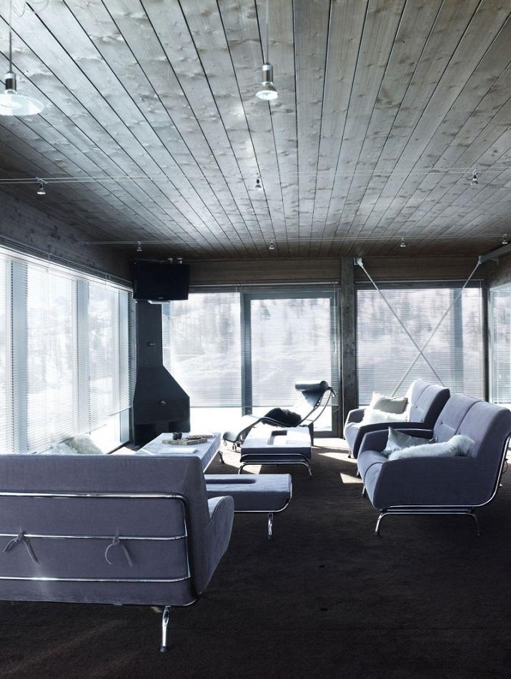 """""""Camelot 2 ist ein schönes Ferienhaus von der italienischen entworfen CON3STUDIO. Es ist in Cesana Torinese, einer Gemeinde in der Provinz Turin, Italien."""""""