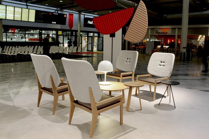 """""""Jedes Jahr wählen die Stockholm Furniture & Light Fair einen Ehrengast aus. 2014 sieht GamFratesi die Herausforderung annehmen.""""  GamFratesi Ehrengast an der Stockholm Furniture Fair 2014 GamFratesi Ehrengast an der Stockholm Furniture Fair 2014 05"""