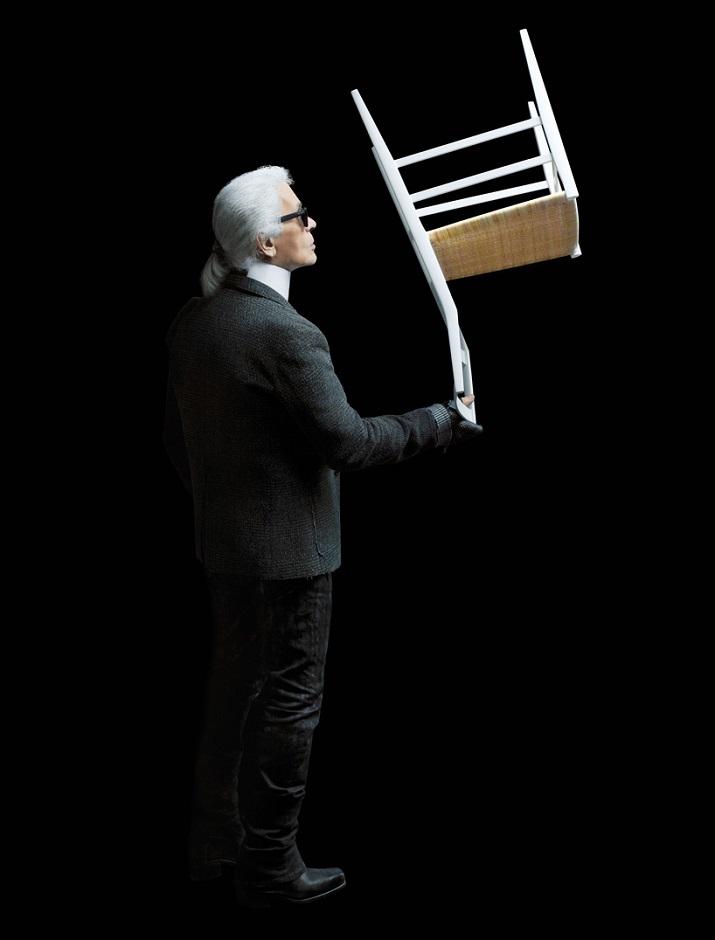 """""""Zum ersten Mal haben sich die berühmte Mode und kreative Ikone dafür entschieden, ein ursprüngliches fotographisches Projekt für eine Möbel-Marke auszuführen.""""  Karl Lagerfeld Fotografie für Cassina Karl Lagerfeld Fotografie f  r Cassina 05"""