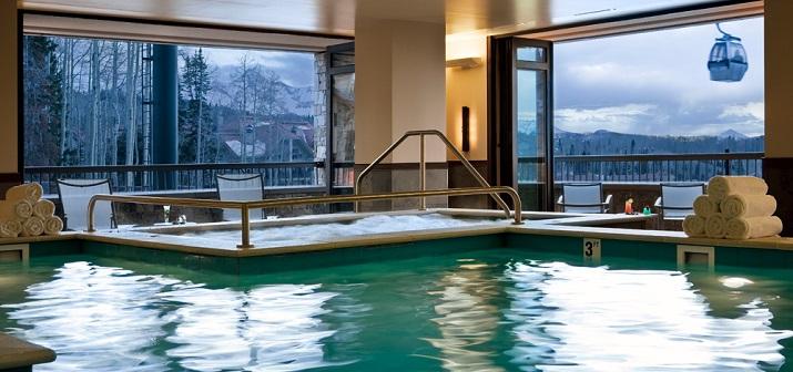 """""""Ein Luxusreisen führt für jeden, der will, an ihm die meisten berühmten Berge, die feinsten Skierleichterungen mit der besten vip Besichtigung.""""  TOP 10 Luxusskireiseziele - Teil I TOP 10 Luxusskireiseziele Inn at Lost Creek 03"""