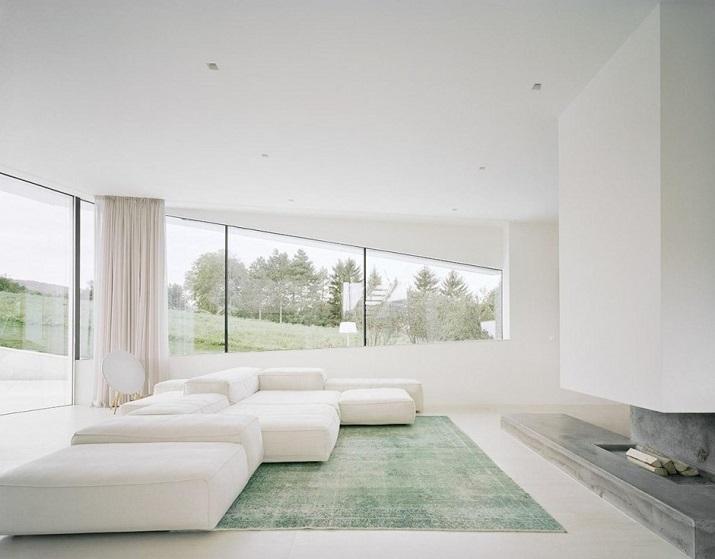 """""""Projekt A01 Architekten haben die Villa für eine Familie Freundorf bei Wien, Österreich konzipiert.""""  Villa Freundorf von Project A01 Architekten Villa Freundorf von Project A01 Architekten 05"""