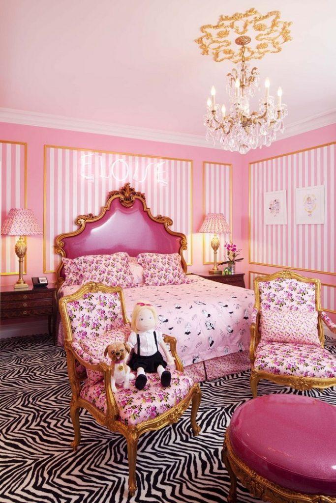 """""""Einige der Modedesigner haben ihre einzigartigen Unterschriften auf Suiten und Hotels durch die Welt gesetzt, die ebenso Schick sind wie ihre Kleidung."""" Designer Hotels 10 TOP Mode Designer Hotels und Suiten 10 TOP Mode Designer Hotels und Suiten Betsey Johnson Suite"""