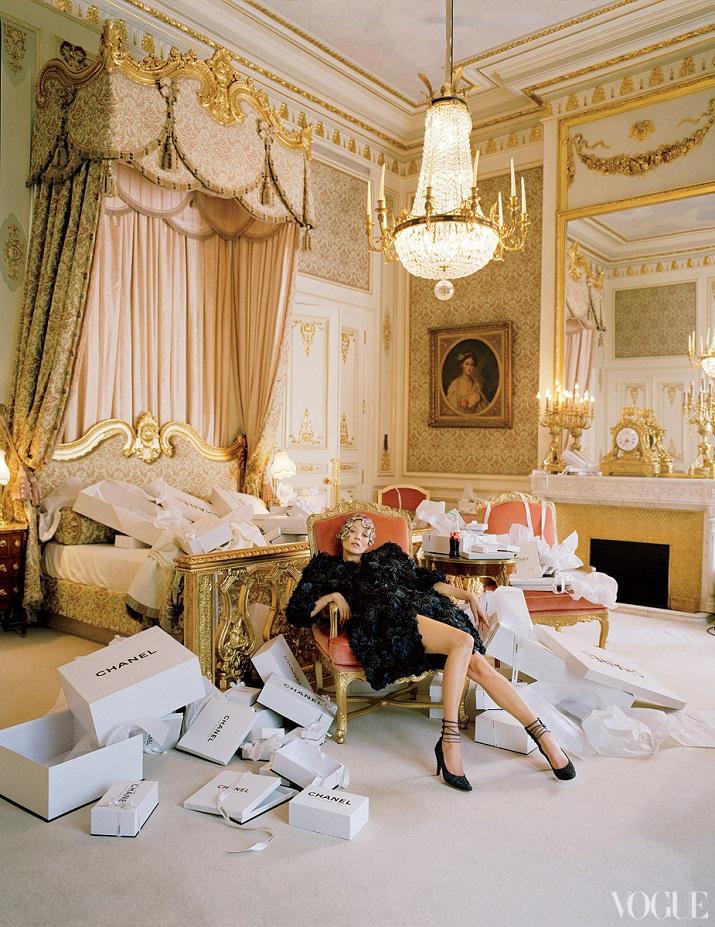 """""""Einige der Modedesigner haben ihre einzigartigen Unterschriften auf Suiten und Hotels durch die Welt gesetzt, die ebenso Schick sind wie ihre Kleidung."""" Designer Hotels 10 TOP Mode Designer Hotels und Suiten 10 TOP Mode Designer Hotels und Suiten Coco Chanel Suite"""