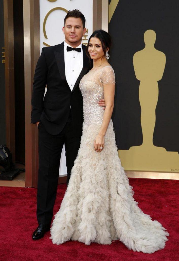 """""""Schwer verliebt, hochschwanger, glamourös: Seht hier die süßesten Paare der Oscar-Nacht 2014. Von Brangelina bis zu Channing und Jenna Tatum."""" Oscar-Paare Die 10 schönsten Oscar-Paare 2014 Die 10 sch  nsten Oscar Paare 05"""