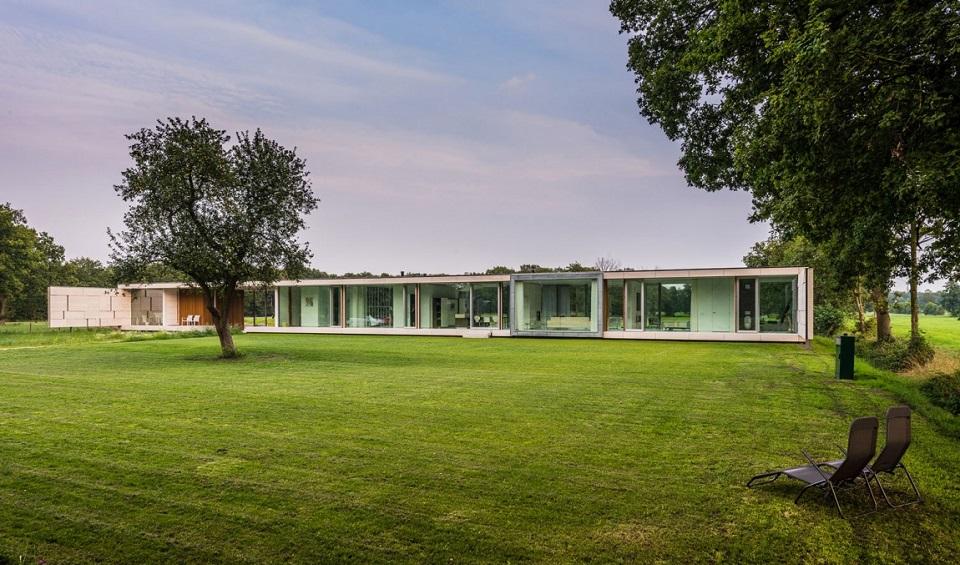 Die moderne Villa Sterk von Inbo Architektbüro Die moderne Villa Sterk von Inbo Architektb  ro slide