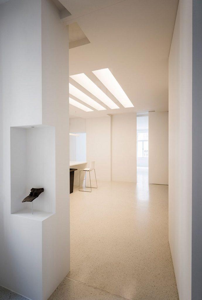 """""""Zwei angrenzende Wohnungen Architekt mit Sitz in London verbindend, hat Alex graef das existierende 19. Jahrhundert umgebaut, das in Wien baut.""""  Renovierung eines 19. Jahrhunderts Gebäude in Wien Renovierung eines 19"""