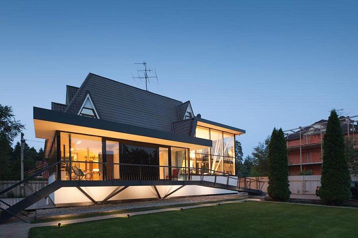 """""""Haus N ist ein Projekt in Moskau, Russland. Gemacht in 2014 von 4a Architekten""""  Wohntrends: Haus N von 4a Architekten Wohntrends Haus N von 4a Architekten 01"""