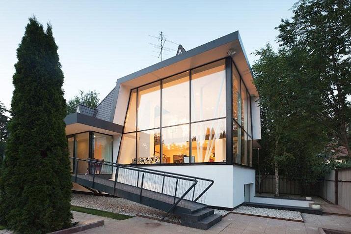 """""""Haus N ist ein Projekt in Moskau, Russland. Gemacht in 2014 von 4a Architekten""""  Wohntrends: Haus N von 4a Architekten Wohntrends Haus N von 4a Architekten 02"""