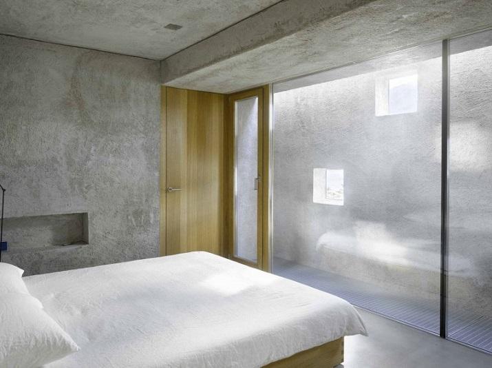 """""""Dieses elegante Haus, in Ranzo, die Schweiz, wird von Wespi de Meuron entworfen.""""  Betonhaus in Ranzo bei Wespi de Meuron Betonhaus in Ranzo bei Wespi de Meuron 07"""