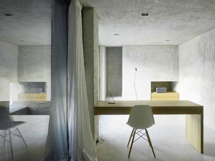 """""""Dieses elegante Haus, in Ranzo, die Schweiz, wird von Wespi de Meuron entworfen.""""  Betonhaus in Ranzo bei Wespi de Meuron Betonhaus in Ranzo bei Wespi de Meuron 10"""