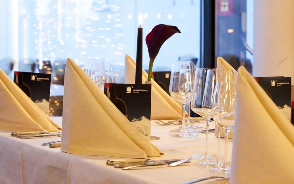 Gourmetrestaurant Schaufelspitz mit exklusiver Speisekarte Gourmetrestaurant Schaufelspitz mit exklusiver Speisekarte slide