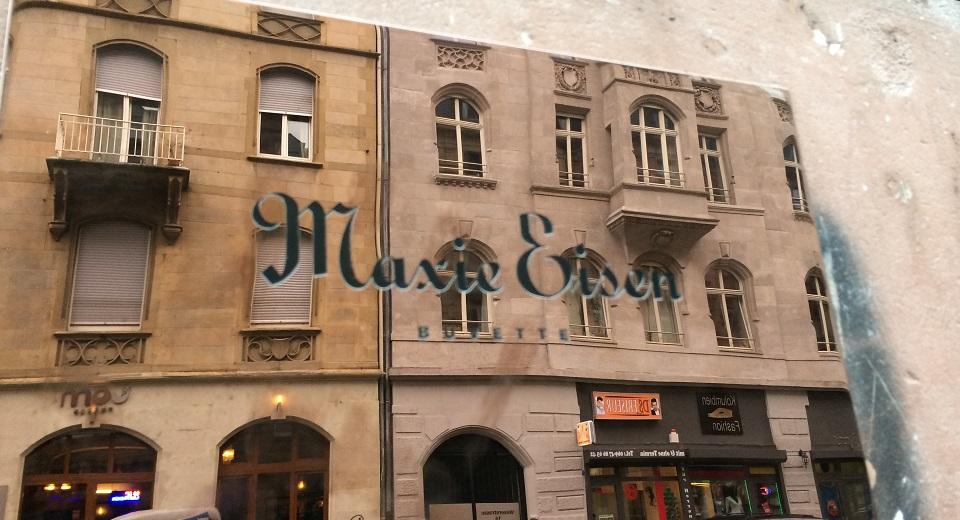 """""""Maxie Eisen, ein Chicagoer Gangster mit deutsch-jüdischen Wurzeln und guten Verbindungen zum berüchtigten Al Capone, am Frankfurter Bahnhofsviertel."""""""